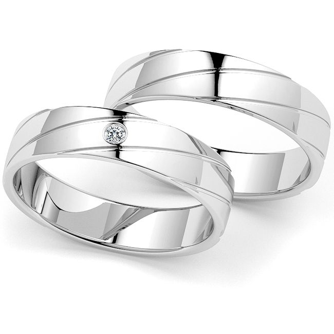 Klassiek Elnora Diamant Ring Set