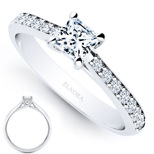 Allure Signature Ring - L'amour - Princess 0.58ctw